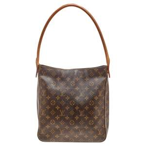 Louis Vuitton Monogram Canvas And Leather Looping GM Bag