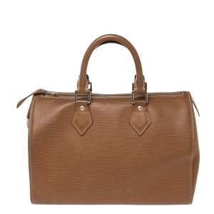 Louis Vuitton Canelle Epi Leather Speedy 25 Bag