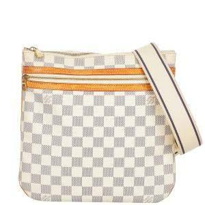 Louis Vuitton Damier Azur Canvas Pochette Bosphore Bag