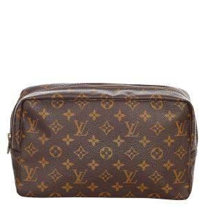 Louis Vuitton Monogram Canvas Trousse Toilette 28 Cosmetic Bag