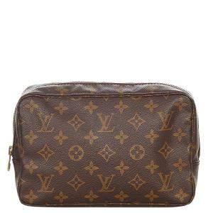 Louis Vuitton Monogram Canvas Trousse Toilette 23 Cosmetic Bag