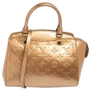 Louis Vuitton Beige Poudre Monogram Vernis Brea PM NM Bag
