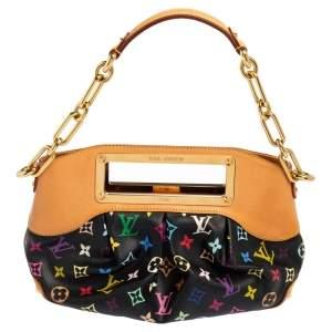 Louis Vuitton Black Multicolore Monogram Canvas Judy PM Bag
