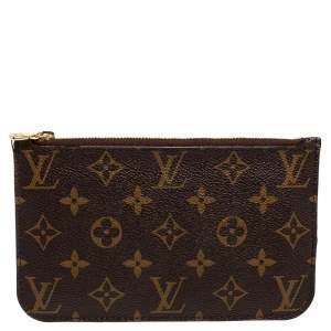 Louis Vuitton Monogram Canvas Top Zip Pouch