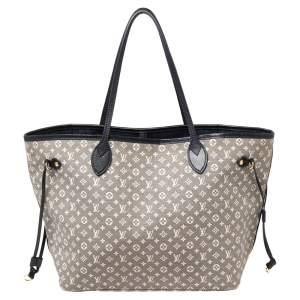 Louis Vuitton Encre Monogram Idylle Canvas Neverfull MM Bag