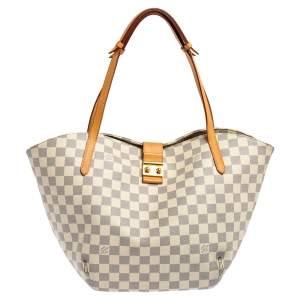 Louis Vuitton Damier Azur Canvas Salina PM Bag