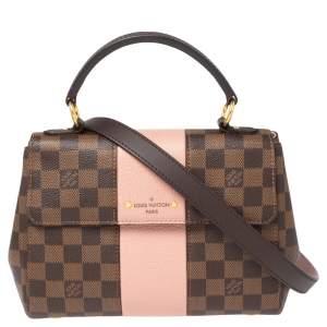 Louis Vuitton Magnolia Damier Ebene Canvas Bond Street Bag
