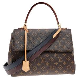 Louis Vuitton Coated Canvas Cluny MM Bag