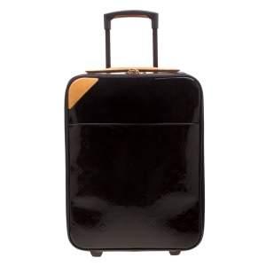 Louis Vuitton Amarante Monogram Vernis Pegase 45 Suitcase