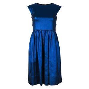 Marc by Marc Jacobs True Blue Metallic Dress S