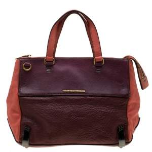 Marc by Marc Jacobs Tri Color Leather Sheltered Island Satchel