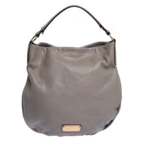 Marc by Marc Jacobs Taupe Leather Classic Q Hillier Hobo