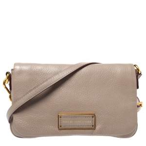 Marc by Marc Jacobs Beige Leather Too Hot to Handle Percy Shoulder Bag