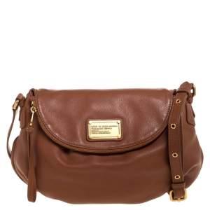 Marc by Marc Jacobs Tan Leather Classic Q Natasha Crossbody Bag