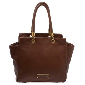 Marc By Marc Jacobs Brown Soft Leather Bentley Tote