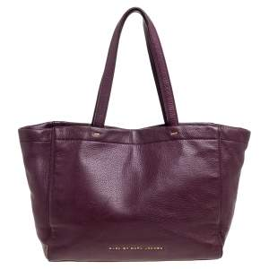 Marc by Marc Jacobs Black Leather What's The T Woodland Tote