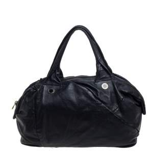 Marc By Marc Jacobs Black Leather Satchel