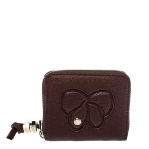 Marc by Marc Jacobs Brown Leather Zip Around Wallet
