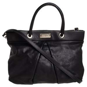 Marc by Marc Jacobs Black Leather Marchive Tote