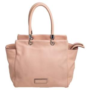 Marc by Marc Jacobs Peach Leather Too Hot To Handle Tote