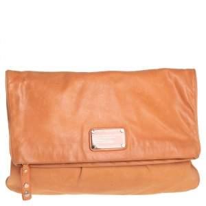 حقيبة كلتش مارك باي مارك جوكبس در. كيو مجازين جلد برتقالي