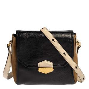 Marc By Marc Jacobs Multicolor Leather And Nubuck Crossbody Bag