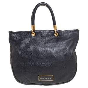 Marc by Marc Jacobs Black Leather Too Hot To Handle Tote