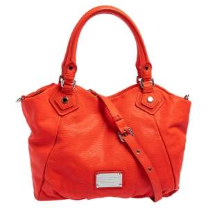 Marc by Marc Jacobs Orange Leather Tote