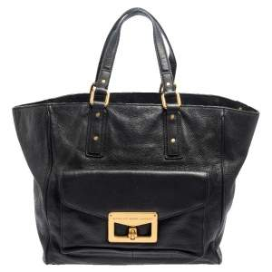 Marc by Marc Jacobs Black Leather Bianca Hayley Tote