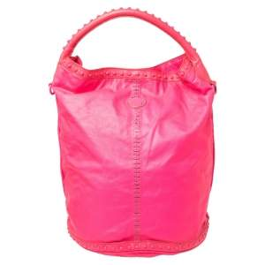 Marc by Marc Jacobs Pink Leather Embellished Hobo