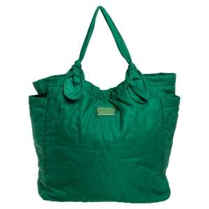 Marc by Marc Jacobs Green Nylon Large Pretty Tate Tote
