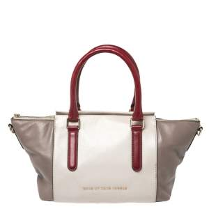 Marc by Marc Jacobs Multicolor Leather Top Zip Tote