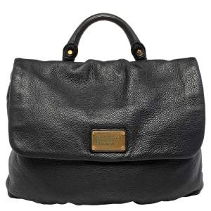 Marc by Marc Jacobs Black Leather Top Handle Bag