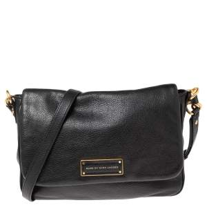 Marc by Marc Jacobs Black Leather Too Hot To Handle Crossbody Bag