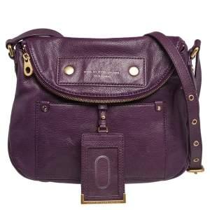 Marc by Marc Jacobs Purple Preppy Natasha Crossbody Bag