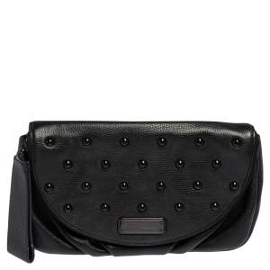 Marc by Marc Jacobs Leather Studded Leather Wristlet Clutch