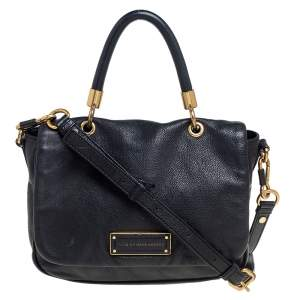 Marc by Marc Jacobs Black Leather Too Hot To Handle Bag