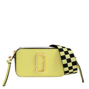 Marc Jacobs Yellow Leather Snapshot Bag