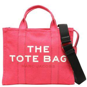 Marc Jacobs Bright Pink Leather The Small Traveler Tote Bag