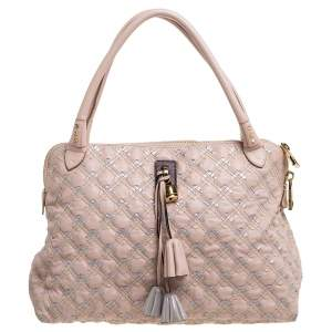 Marc Jacobs Pink Quilted Leather Memphis Robert Jena Satchel