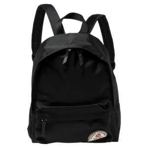 Marc Jacobs Black Nylon Large Collegiate Backpack
