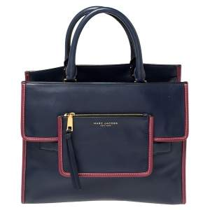 Marc Jacobs Blue Leather Madison Tote