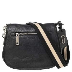 Marc Jacobs Black Leather Nomad Crossbody Bag