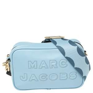Marc Jacobs Blue Flash Leather Crossbody Bag