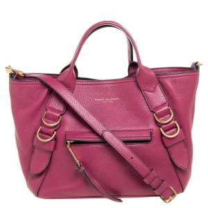 Marc Jacobs Pink Leather Small Anchor Tote