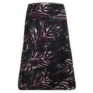 Marni Multicolor Textured Floral Printed Skirt M