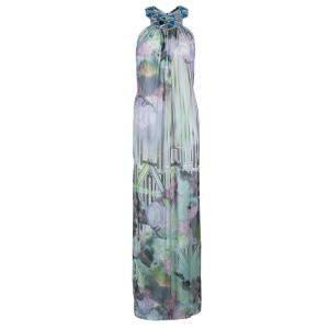 Matthew Williamson Multicolor Embellished Maxi Dress M