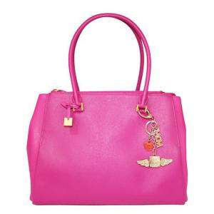 MCM Pink Leather  Tote