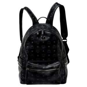 حقيبة ظهر إم سي إم كانفاس فيستوس أسود مقوى مرصعة متوسطة