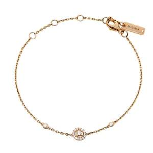 Messika Mini Joy XS Diamond 18K Rose Gold Bracelet